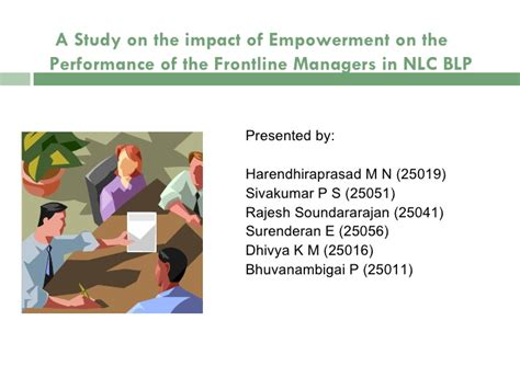 Mba Project Report On Employee Empowerment by Employee Empowerment