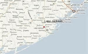 where is lake jackson on map lake jackson location guide