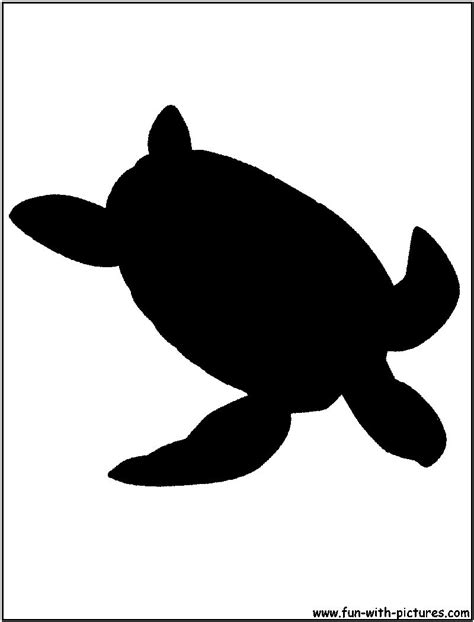 Ocean Decorations For Home by Green Sea Turtle Silhouette