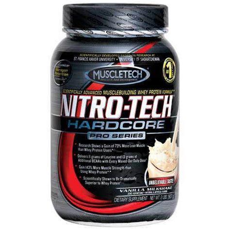 Suplemen Nitro Tech muscletech nitro tech pro series powder protein