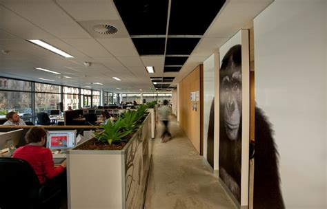 Advertising Agency Office Interiors by The Leo Burnett Office Interior Design By Hassell