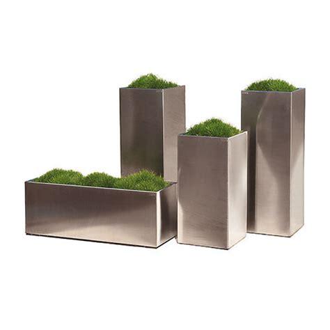 vasi in acciaio inox acciaio inox cuadra