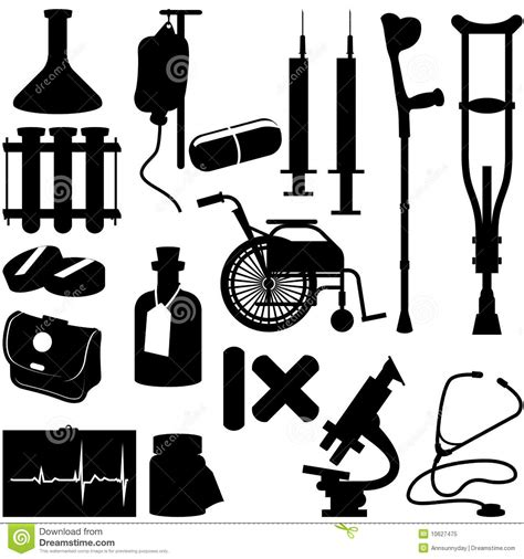 health icons royalty free stock photo image 10627475