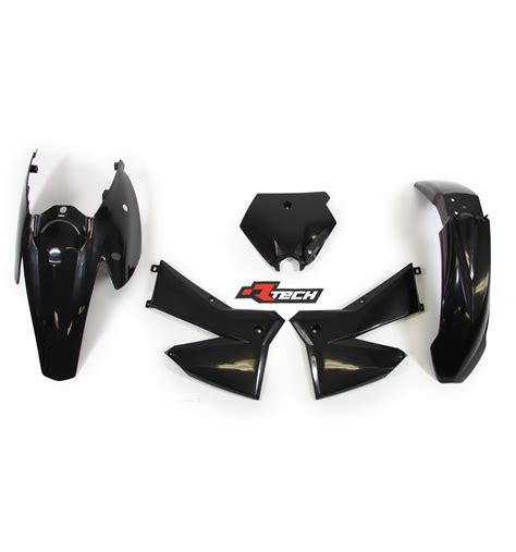 Ktm 525 Exc Parts Ktm525 Exc 2005 2007 Racetech Black Plastics Kit Ktm 525