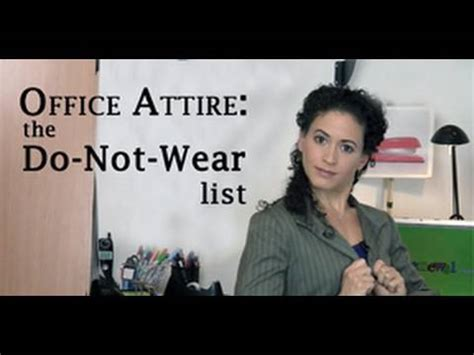 image gallery inappropriate office attire