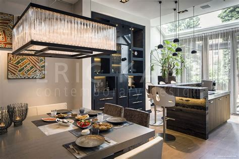 house renovation with warm luxurious materials