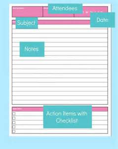Meeting Notes Templates by Meeting Notes Template Planner Meeting Notes Meeting