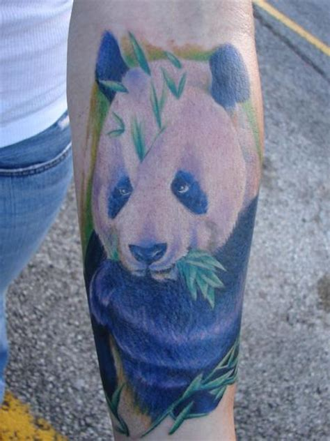 panda tattoo realistic realistic panda tattoo by mario sanchez tattoonow