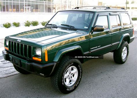 cherokee jeep 2001 2001 jeep cherokee 4x4 sport 4 0 lifted quot service records