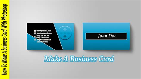 business card template photoshop cs6 5 best