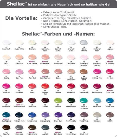 shellac colors chart de idee 235 ncatalogus voor iedereen