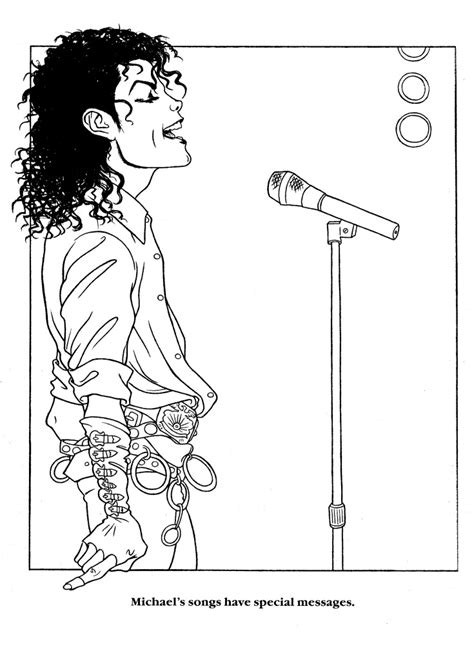 michael jackson moonwalker coloring book coloring pages