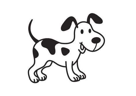 dibujos de perros para colorear manualidades infantiles perro para colorear rincon util