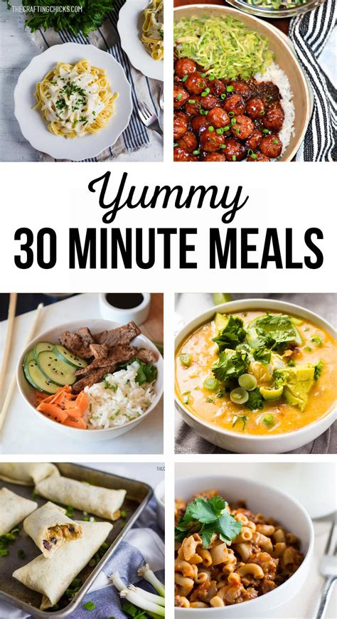 30 minute meals 30 minute meals