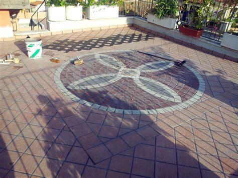 pavimentazione terrazzo foto pavimentazione terrazzo a mosaico di cama impianti