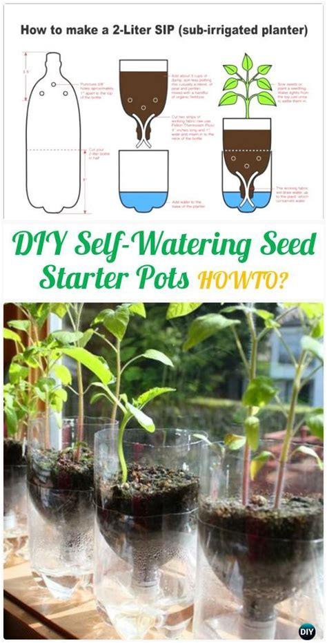 diy self watering herb garden diy self watering seed starter pots instructions diy