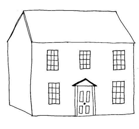 house colouring house printable coloring pages coloring