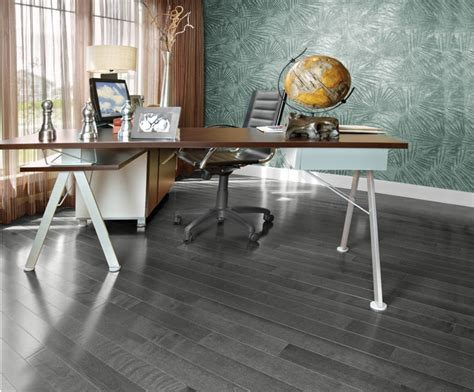 mirage wood flooring contemporary home office