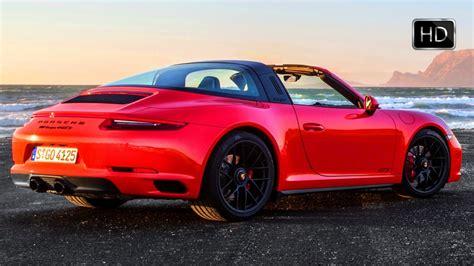 porsche targa 2018 2018 porsche 911 targa 4 gts lava orange exterior