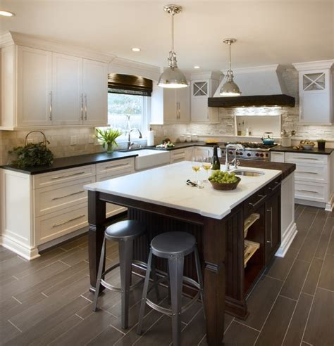 houzz country kitchens transitional uptown country kitchen basking ridge nj