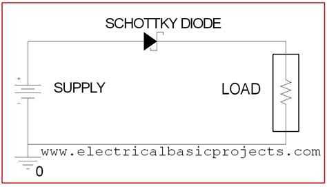 diode voltage drops how to provide voltage protection using pn diode schottky diode mosfet