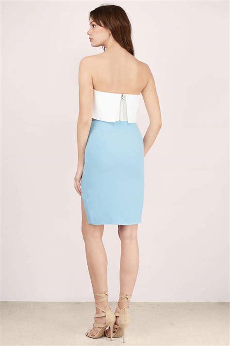light blue pencil skirt cute light blue skirt blue skirt angled seam skirt