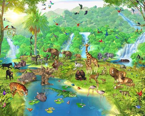 Banner Safari Hewan we drawing inspiratie verdwaald in de jungle brugklas 2011 2012
