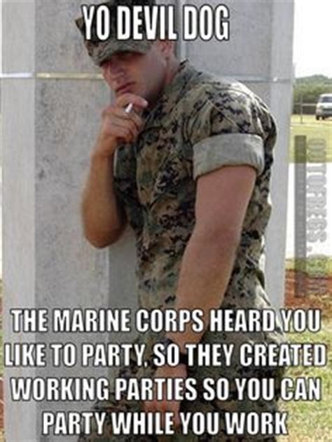 Funny Marine Corps Memes - working party in the marinecorps usmc military humor