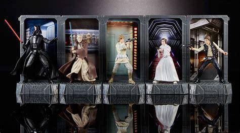 Luke Skywalker Wars Black Series 375 Inch Hasbro hasbro reveals wars 40th anniversary black series line