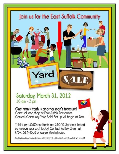 yard sale template 14 garage sale flyers 5 hyde park at lake wyndemere flyers flyer template and