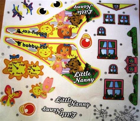 Bobby Car Aufkleber Individuell by Big Bobby Car Stickers Aufkleberset Nanny Ebay