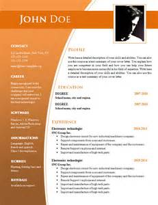 free resume templates docs cv templates for word doc 632 638 free cv template