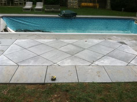 blue bluestone patio replacement in quogue ny