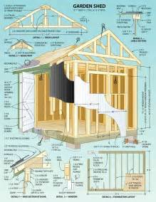 shed layout plans plans to build a wooden storage shed woodworking