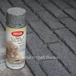 Faux Stone Paint Effect - faux brick wall panel diy tutorial craft passion page 2 of 2