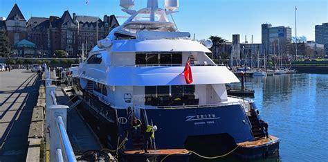 yacht zenith superyacht zenith back in victoria