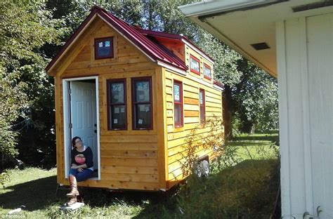 what is a tiny home family of three and their dog ditch rental home for
