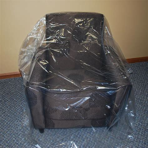 plastic couch covers for moving plastic chair covers movingblankets com