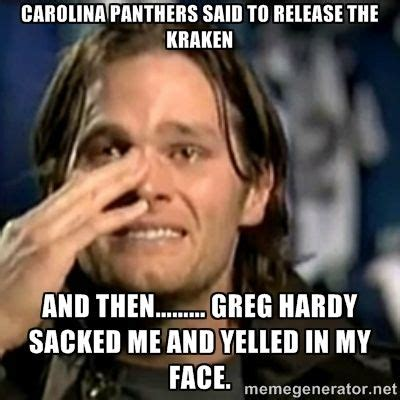 Release The Kraken Meme Generator - carolina panthers memes google search football teams i