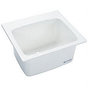mustee drop in laundry sink mustee drop in mount utility sink 1 bowl white 22 quot l x