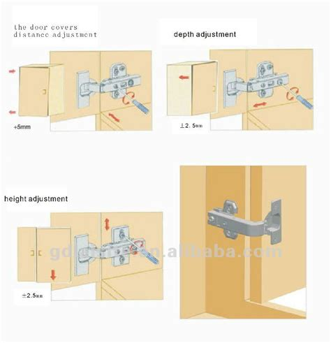 installing kitchen cabinet doors install cabinet door hinges home fatare