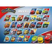 Image  CHUGGINGTON Meet The Chuggers Posterjpg