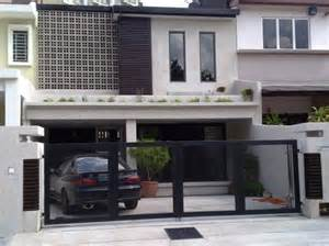 malaysia terrace house design google search fachadas