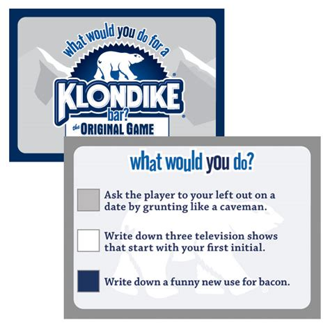 What Would You Do For A Klondike Bar Meme - what would you do for a klondike bar the original game
