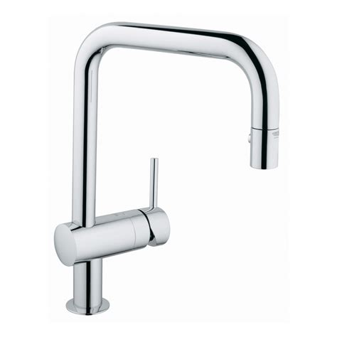 grohe kitchen faucets canada grohe 32319 minta dual pull spray faucet lowe s canada