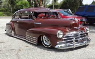 nostalgia on wheels 1948 chevy fleetline aerosedan