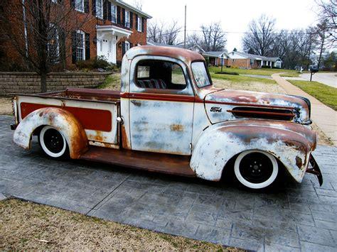 rusty pickup truck working class kustoms rusty ford truck