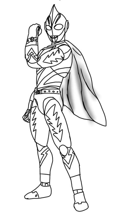 Gambar Ultraman Orb Untuk Mewarnai