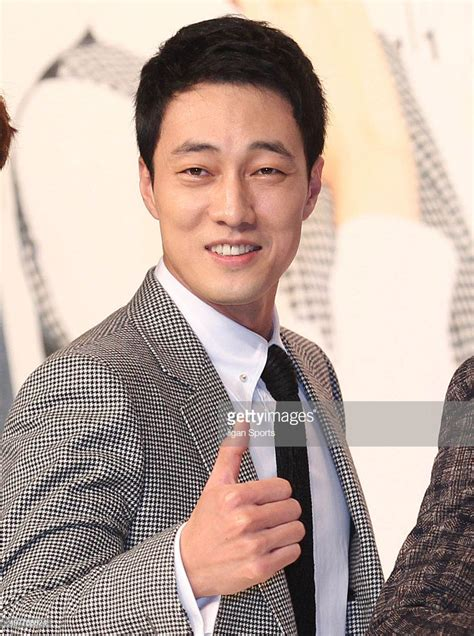 so ji sub venus kbs drama oh my venus press conference getty images