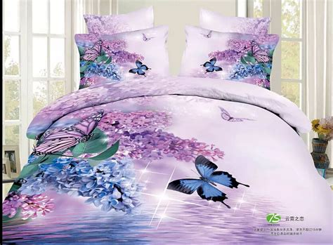 girls comforter sets full size twin full queen size 3d purple bedding sets full size